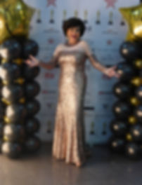 Shirley Bassey Hollywood Oscars Gown