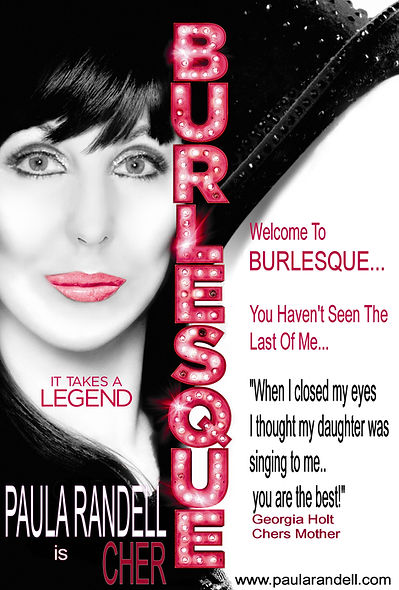 Welcome To Burlesque Poster