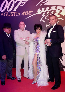 Shirley Bassey Tribute Act | James Bond Theme | Oddjob | Blofeld | Lookalike