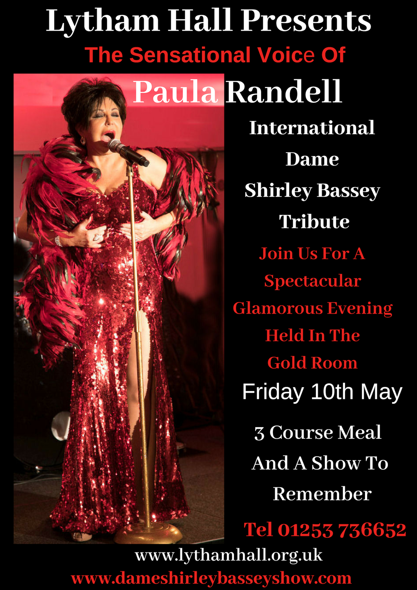 Shirley Bassey Tribute Poster