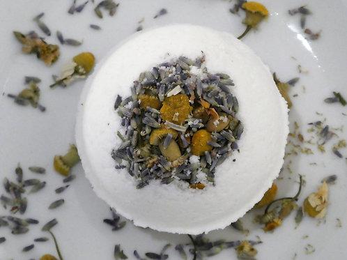 CBD Chamomile & Lavender Bath Bomb