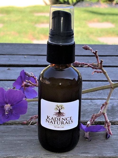 Lavender CBD Body Oil