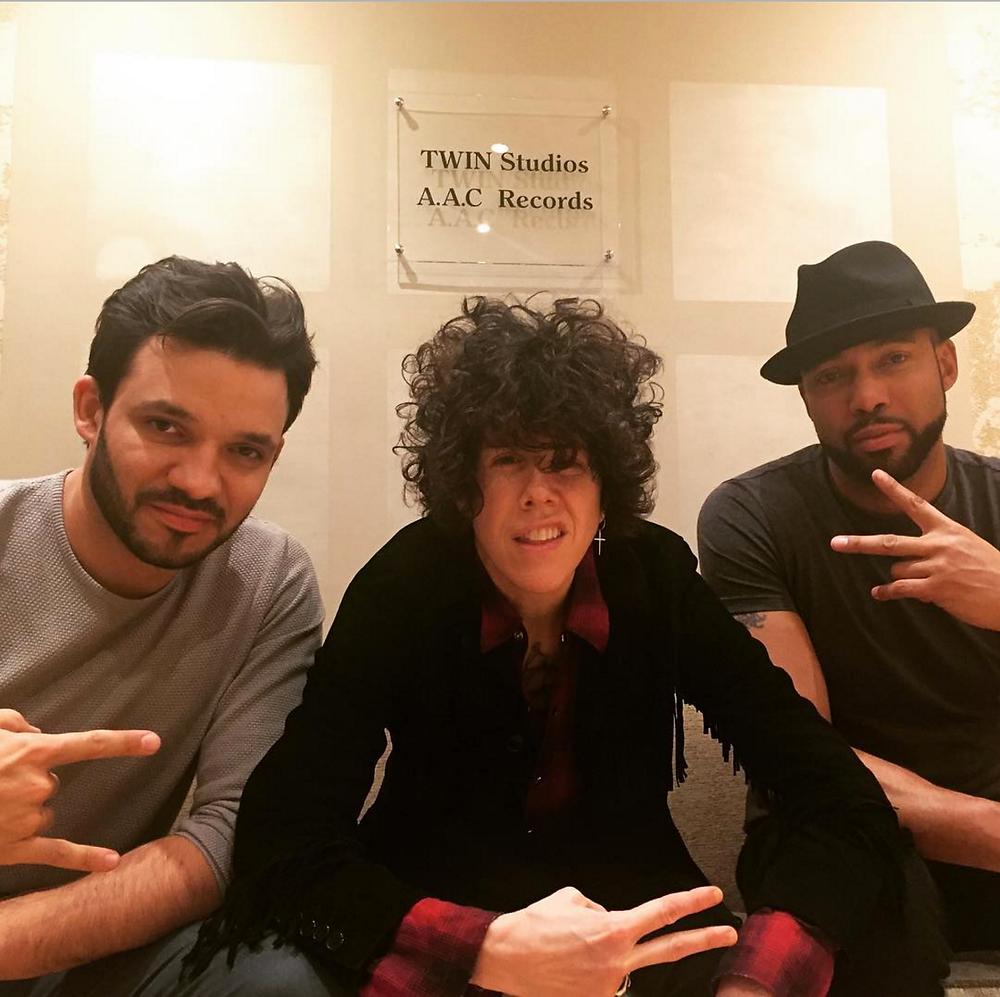 LP en pleine production à Twin Studios Paris
