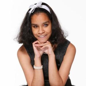 Jane Constance, la gagnante de The Voice Kids dans nos studios.