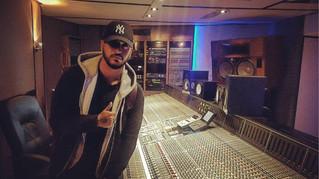 Slimane enregistre à Twin Studios Paris