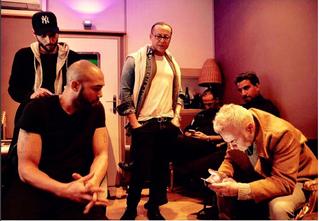 Le célebre Gianluca Vacchi à Twin Studios Paris