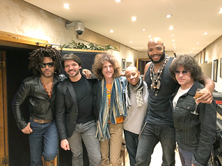 Lenny Kravitz  x Twin Studios Paris