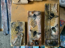 1| 2 | 3 Honeybees of Encaustic