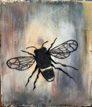 Mini Honeybee of Encaustic