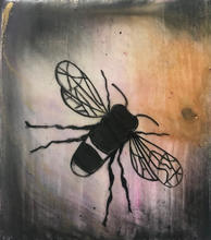 Purple bee encaustic jpeg.jpg