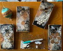 Honeybees of Encaustic