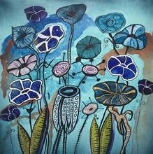 Blue Floral Funk