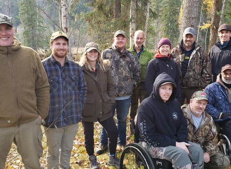 Rempel Builders' Outdoor Adventure with CRIS Adaptive Adventures in Grand Fork