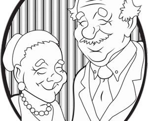 Grandma and Daddy Sam