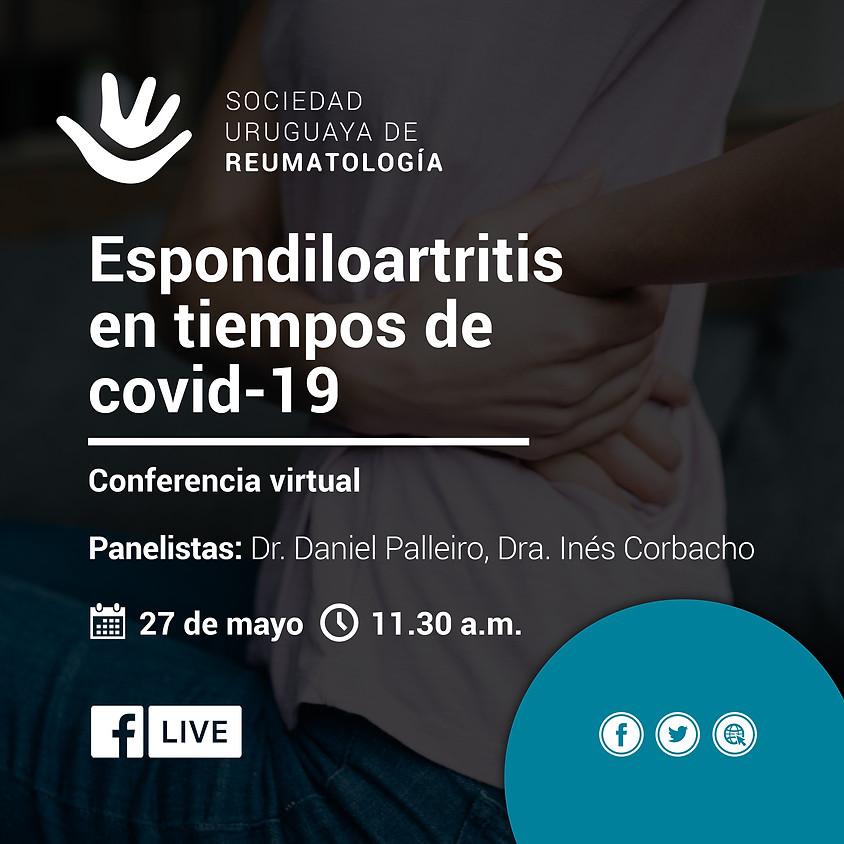 Videoconferencia: Espondiloartritis en tiempos de COVID-19
