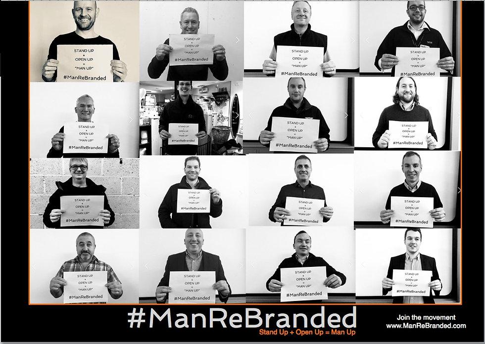 ManReBranded campaign