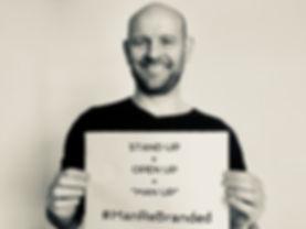 Rob Mitchell-James ManReBrande campaign