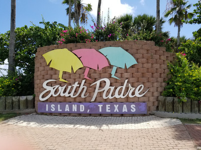 South Padre Island Sign