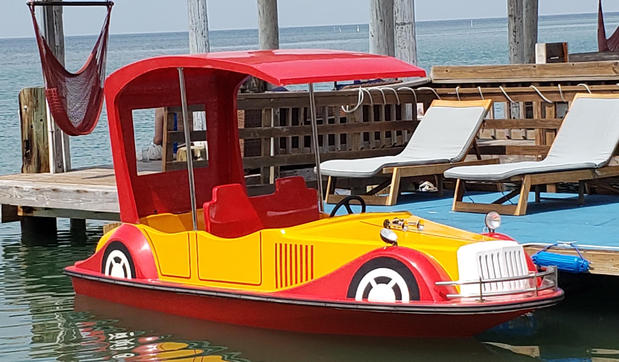 Antique Car Boat