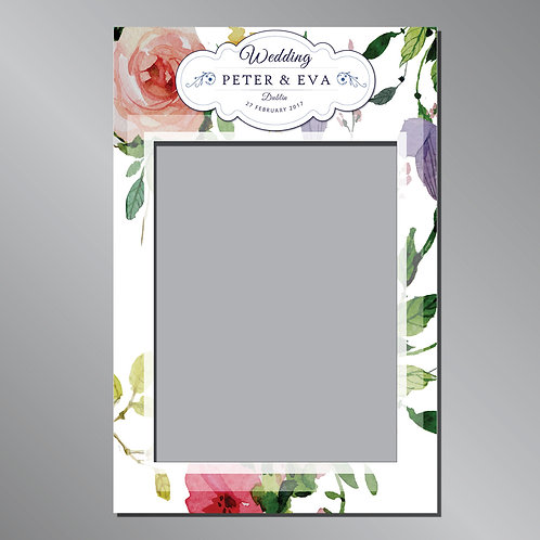 Wedding Frame Photo Prop - BOHO