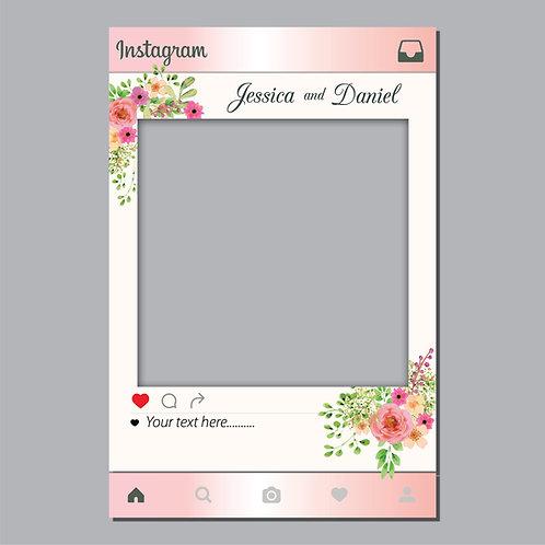 Wedding flower Instagram Photo Prop