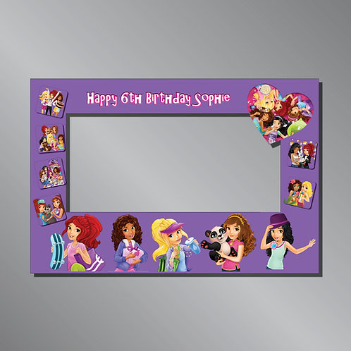 LEGO Friends Frame Photo Prop