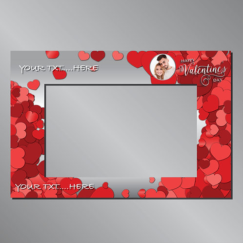 Valentine's day Frame  -  Photo Prop