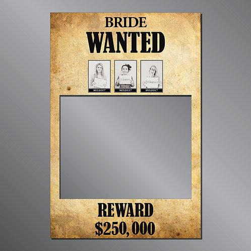 "HEN ""Western Theme"" Frame Photo Prop"