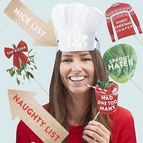 Christmas Photo Booth Kit