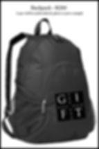 Gift of Dance backpack
