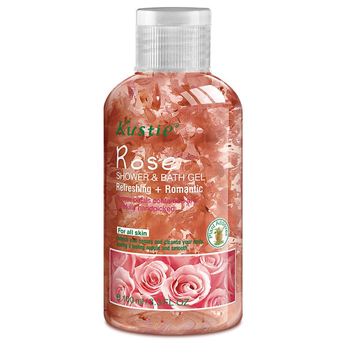 Kustie Rose Shower & Bath Gel 100ml