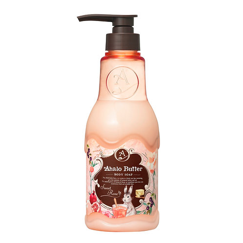 Ahalo Butter Body Soap - Sweet Rose