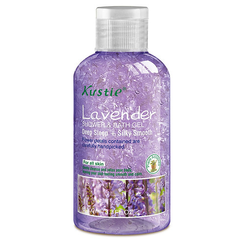 Kustie Lavender Shower & Bath Gel 100ml