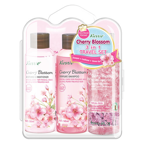 Cherry Blossom 3 in 1 Travel Set