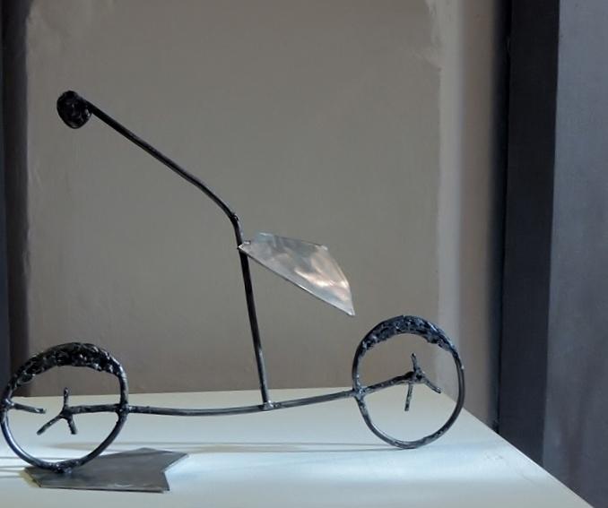 концепт велосипедиста