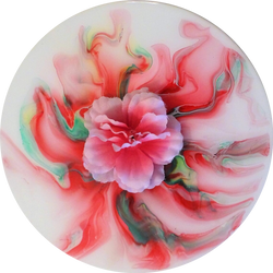 """Swirling Ribbon Flower"""