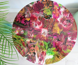 SOLD! Arabesque Table top view