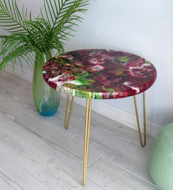 Arabesque Table - side view