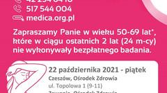 Bezpłatna mammografia w Ośrodku Zdrowia w Zawoni