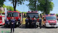 WFOŚiGW we Wrocławiu wspiera Ochotnicze Straże Pożarne w zakupie wozów i sprzętu w ramach Ogólnopol