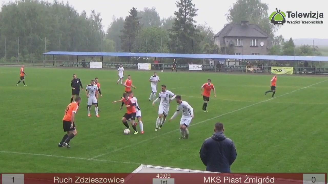 Za Nami kolejny ekscytyjący mecz piłki nożnej zakończony remisem To trzeba koniecznie zobaczyć jak w deszczowych zmaganiach radziły sobie obie drużyny!!! 29 kolejki III ligi (grupy 3) rozegrana pomiędzy Ruch Zdzieszowice a MKS Piast Żmigród zakończył