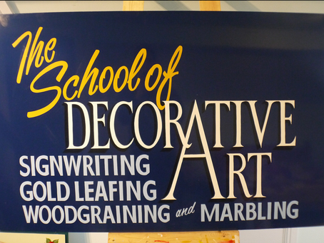 Sign Painting Course