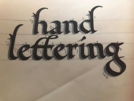 James Lewis - Lettering workshop
