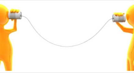 Communiceren = lijnen strak houden