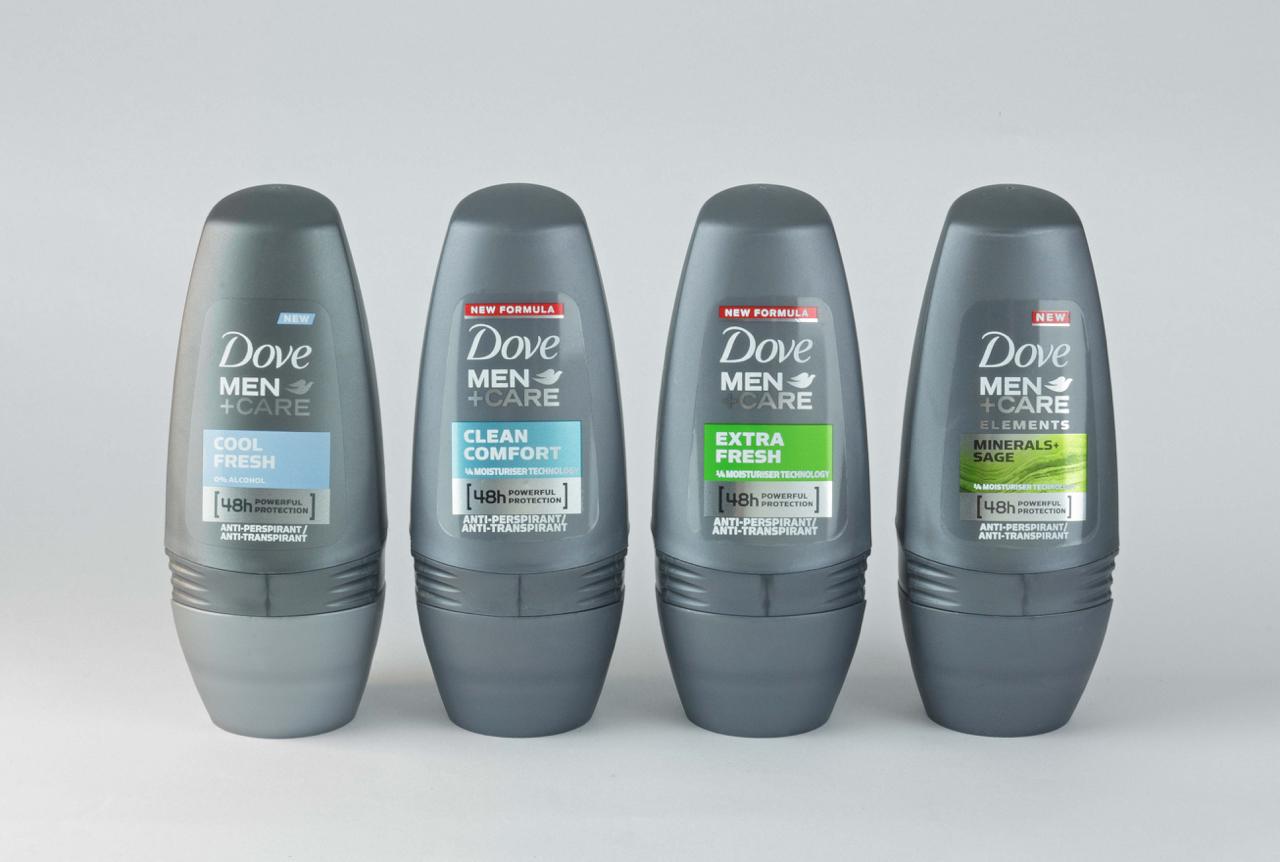 Dove men deodorant