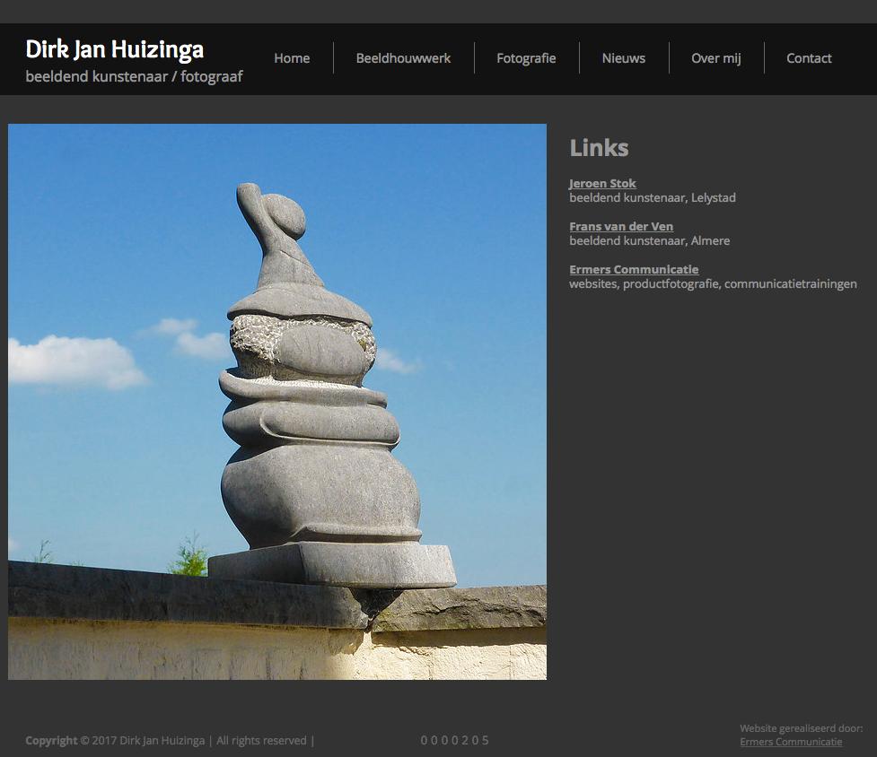Dirk Huizinga Website