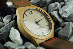 Bamboe horloge - Timeboo