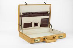 Bamboe attachékoffer