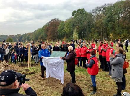 Boomplantdag Schurenberger Park: Ermers Communicatie verzorgt in- en externe communicatie