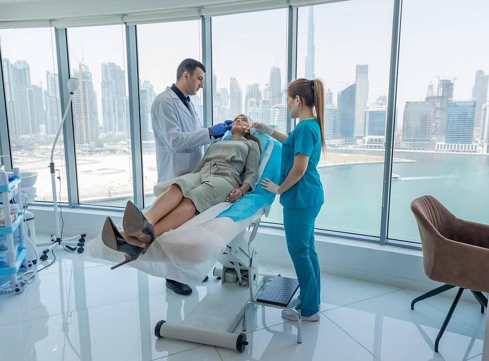 Dermal Filler Wrinkle Treatment Dubai